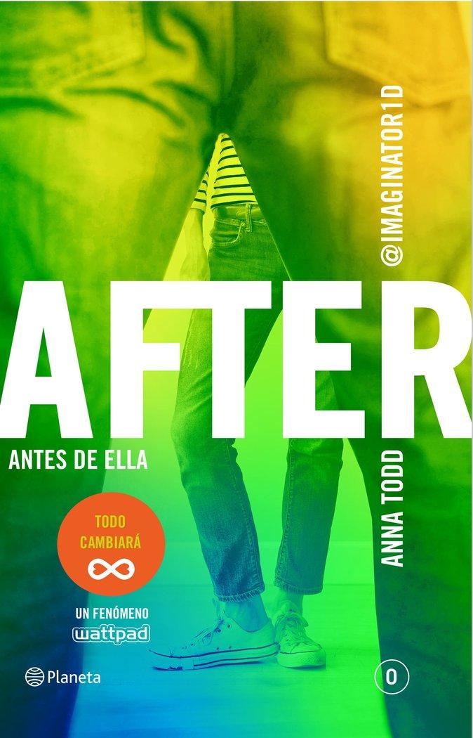 After o antes de ella