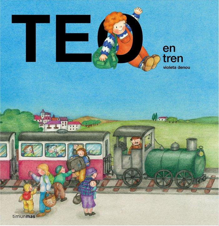 Teo en tren
