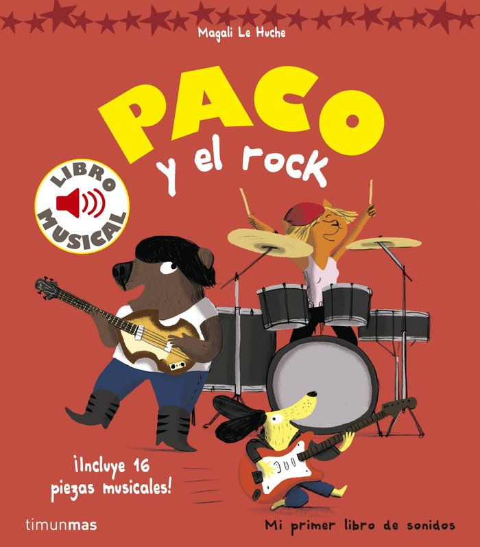 Paco y el rock libro musical