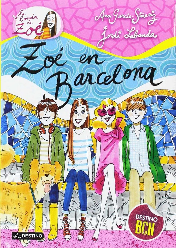 Pack zoe7.barcelona+maleta