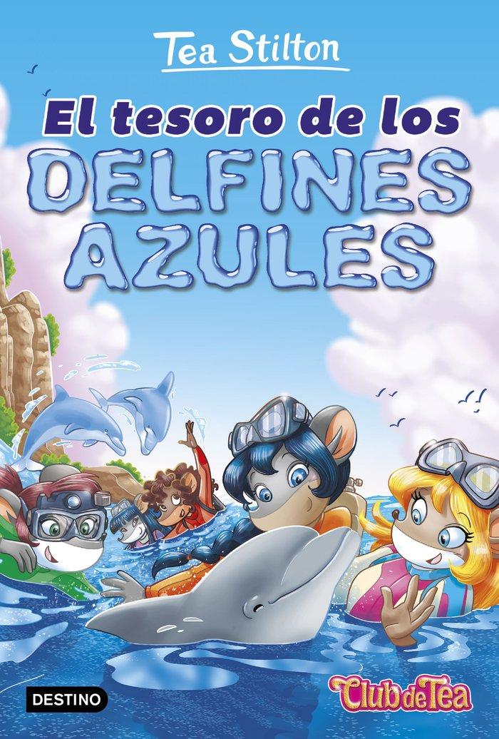 Vida en ratford 24 tesoro de los delfines azules,el