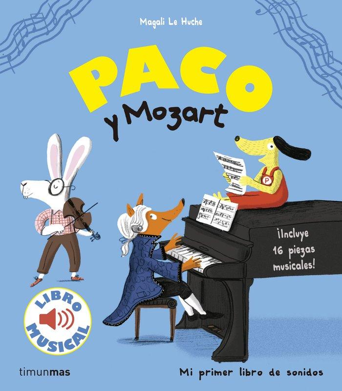 Paco y mozart libro musical