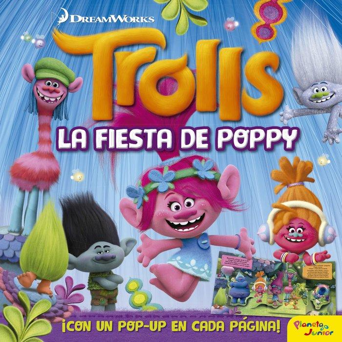 Trolls la fiesta de poppy libro pop-up