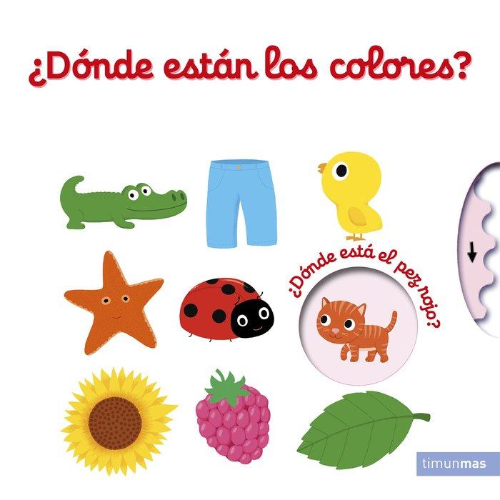 Donde estan los colores?