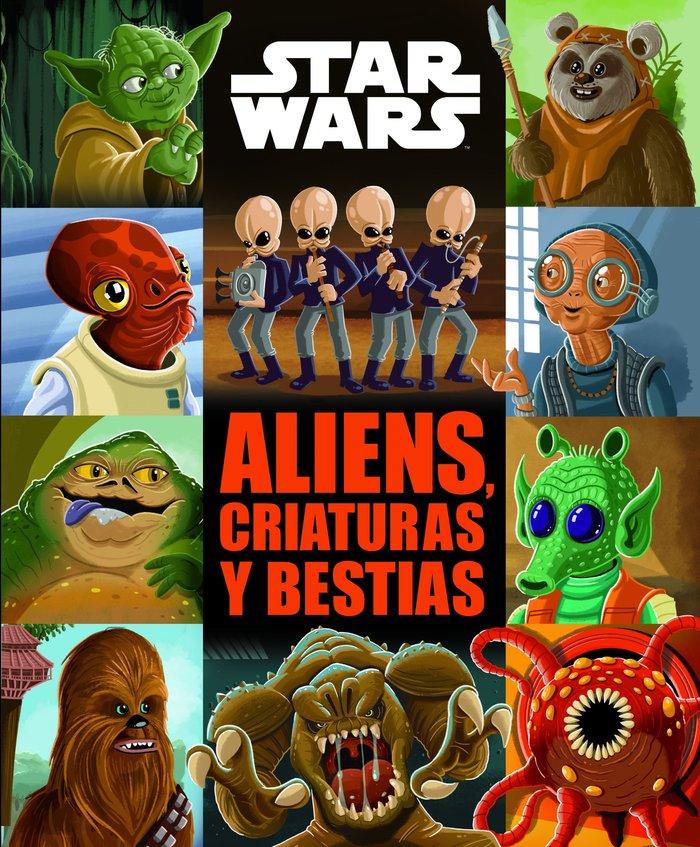 Star wars cuento aliens criaturas y bestias