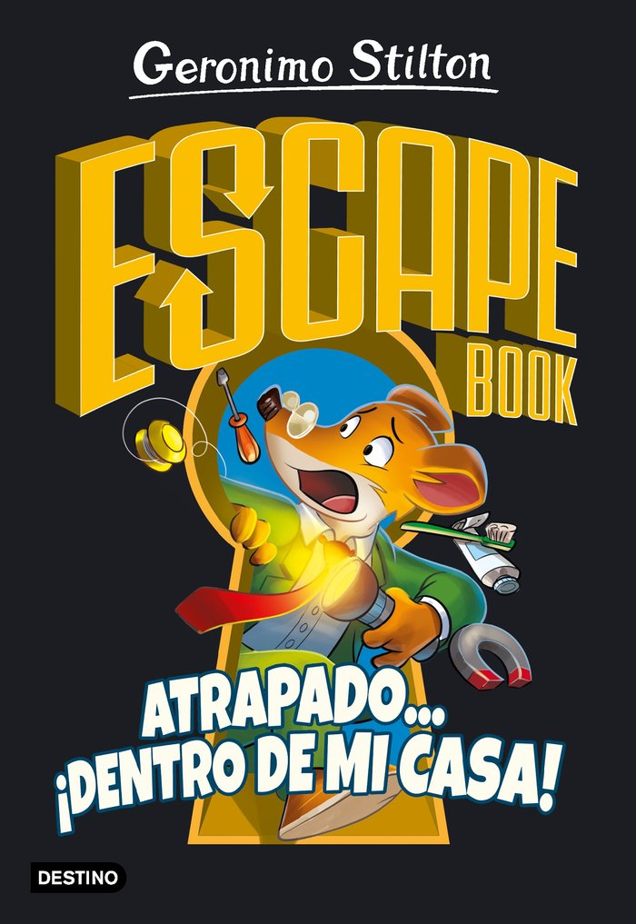 Escape book atrapado... dentro de mi casa