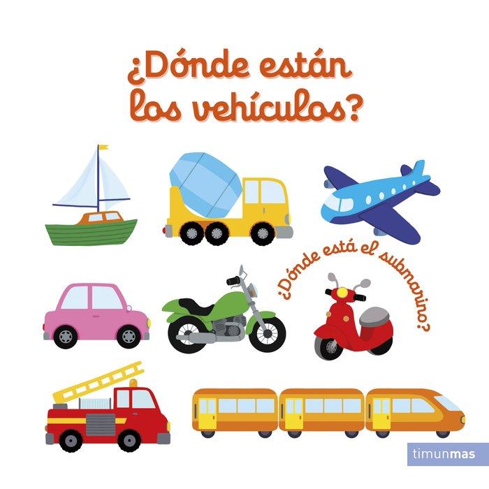 Donde estan los vehiculos