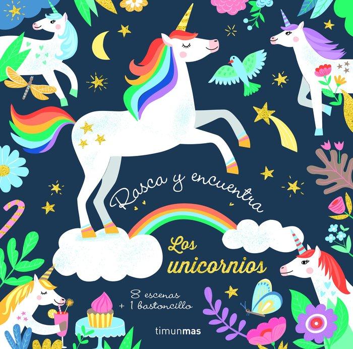 Rasca y encuentra los unicornios