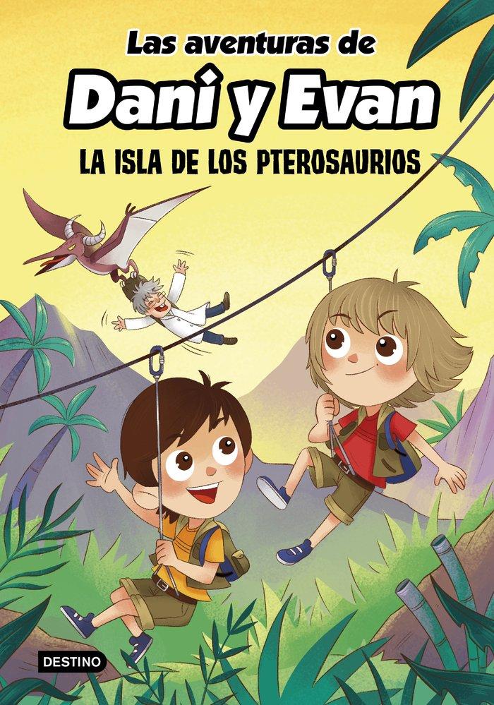 Las aventuras de dani y evan 2 la isla de los pterosaurios