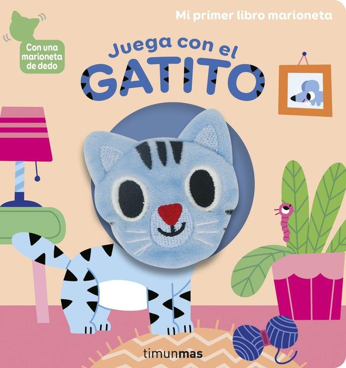 Juega con el gatito libro marioneta