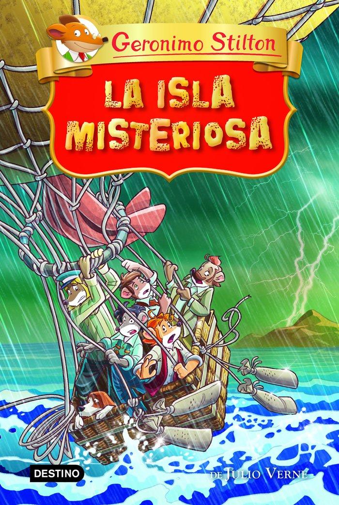 Gs grandes historias la isla misteriosa
