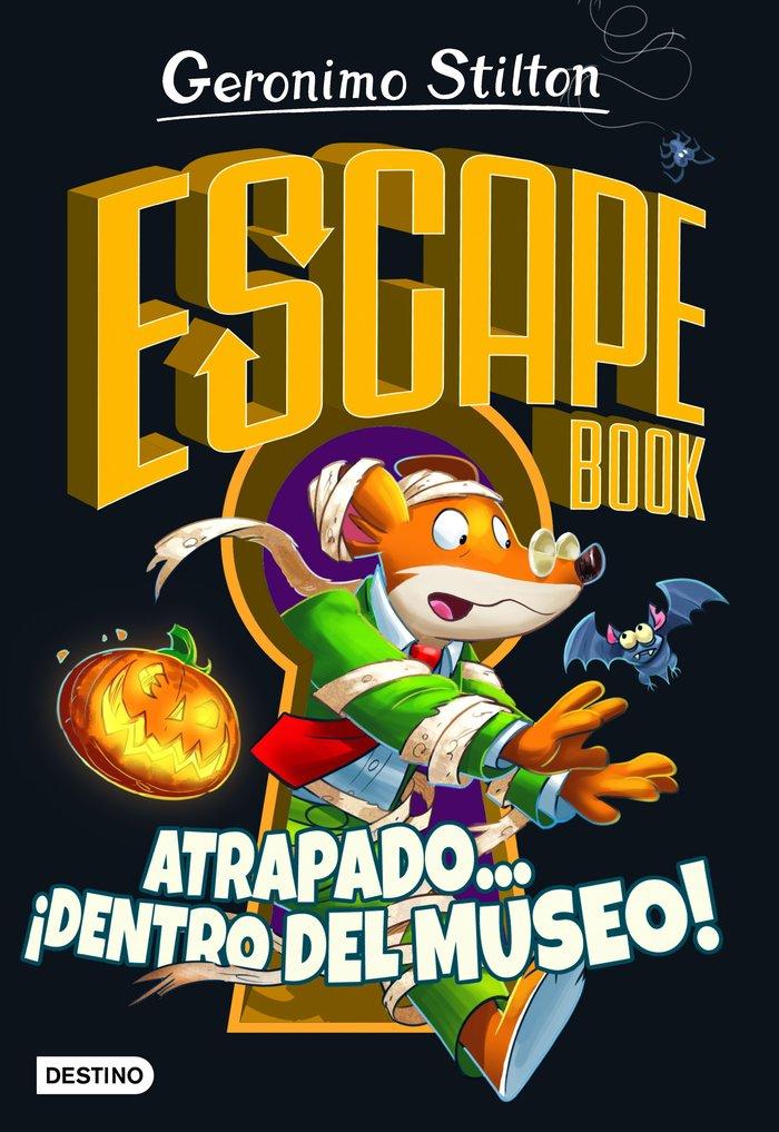 Gs escape book. atrapado... dentro del museo