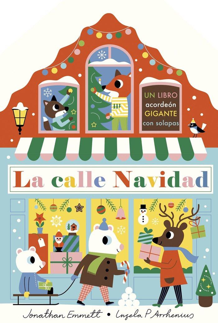La calle navidad. libro acordeon