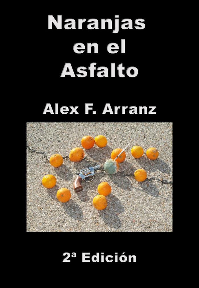 Naranjas en el asfalto