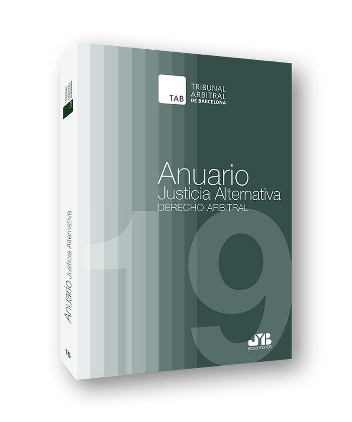 Anuario justicia alternativa numero 15 año 2019
