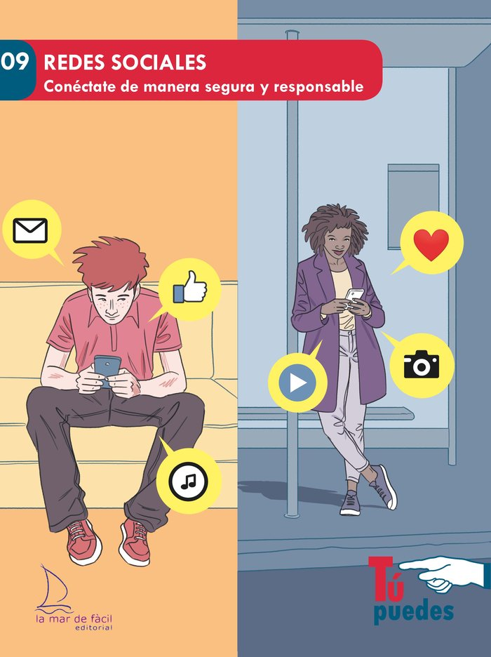 Redes sociales conectate de manera segura y responsable
