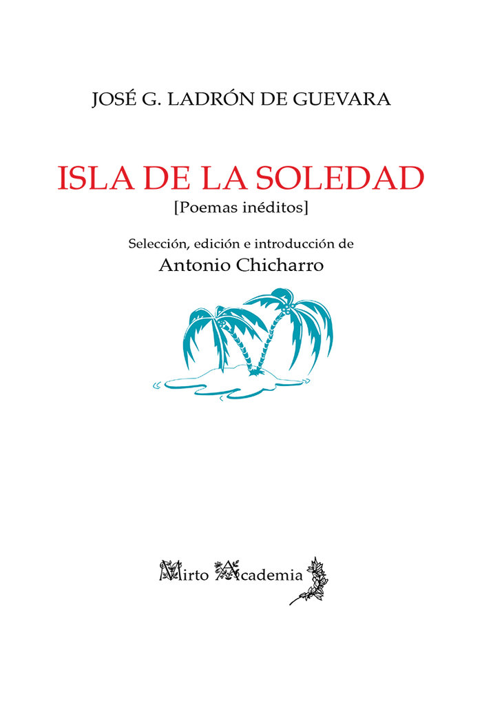 Isla de la soledad poemas ineditos
