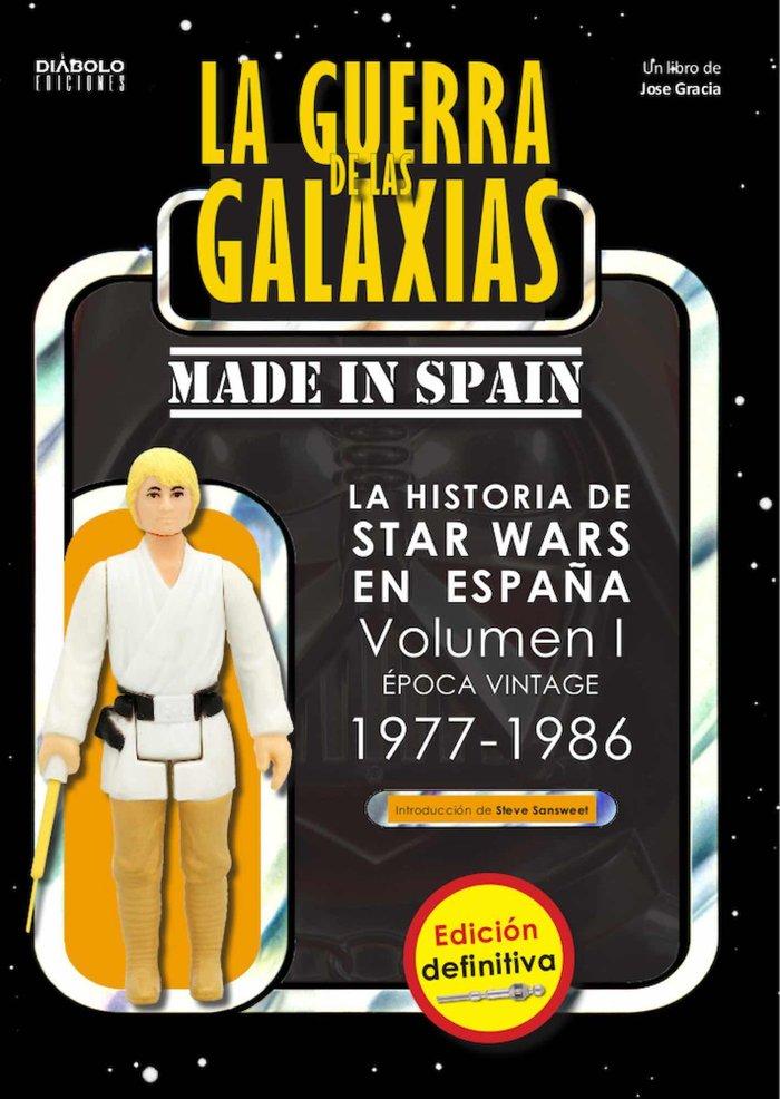 Guerra de las galaxias made in spain historia de star wars