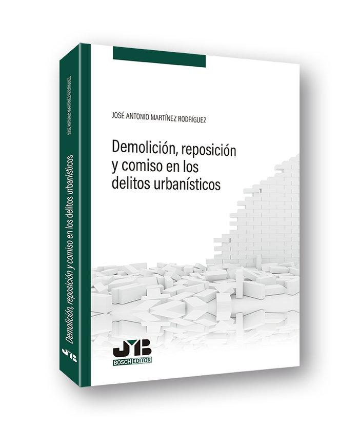 Demolicion, reposicion y comiso en los delitos urbanisticos