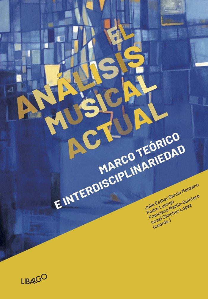 El analisis musical actual