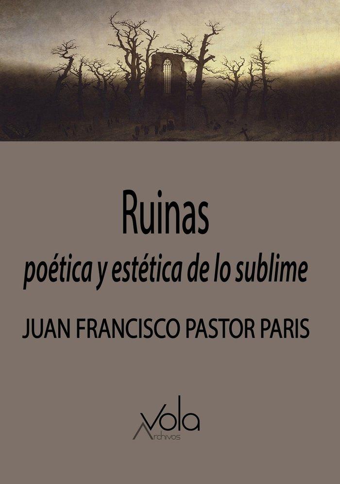 Ruinas poetica y estetica de lo sublime