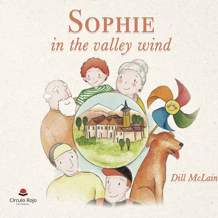 Sophie in the valley wind