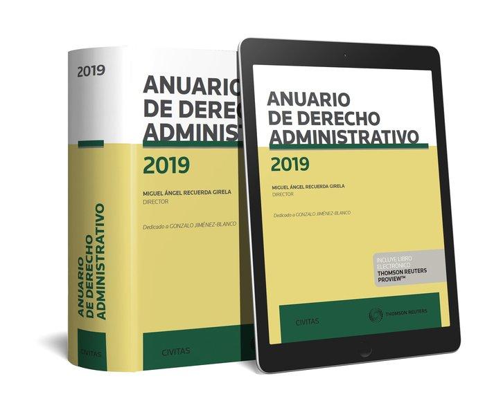 Anuario de derecho administrativo 2019 duo