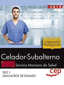 Celador-subalterno. servicio murciano de salud. sms. test y