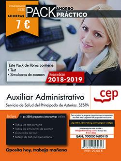 Pack ahorro practico auxiliar administrativo asturias