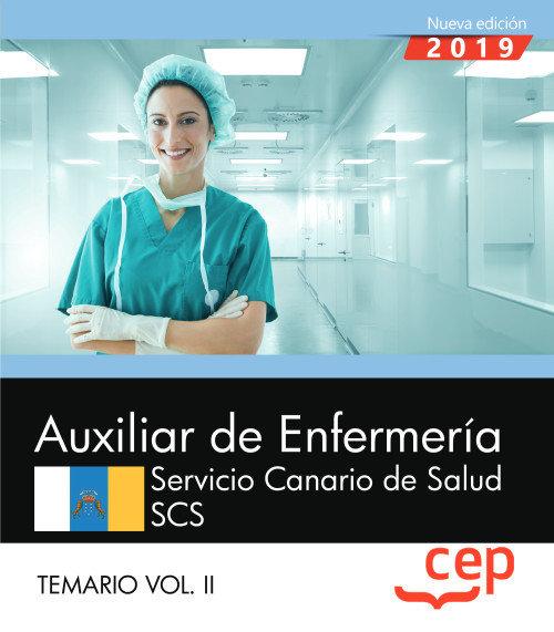 Auxiliar enfermeria servicio canario salud scs temario 2