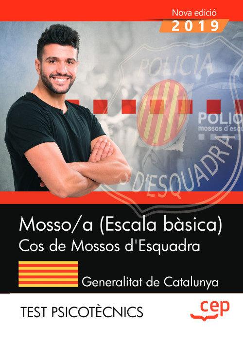 Mosso/a escala basica cos de mossos desquadra test psicotec