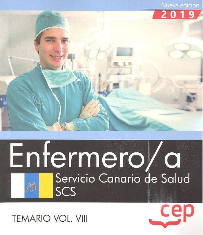 Enfermero/a servicio canario salud temario vol viii