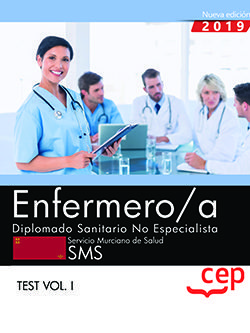 Enfermero/a diplomado sanitario no especialista test vol 1