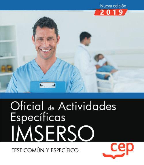 Oficial actividades especificas imserso test comun y especi