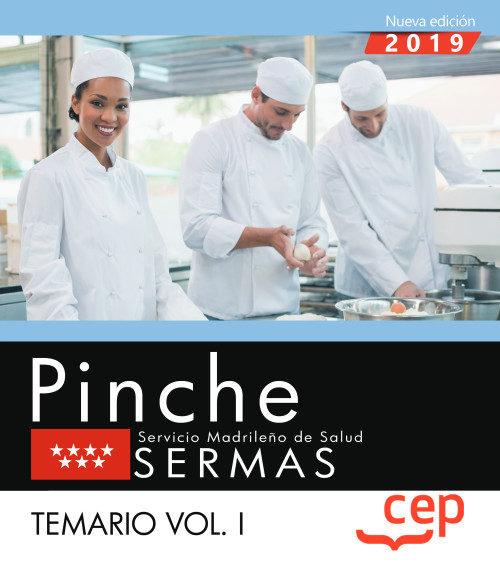Pinche servicio madrileño salud sermas temario vol 1