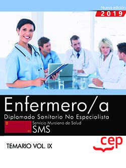 Enfermero/a diplomado sanitario no especialista vol 9