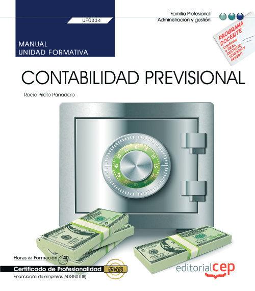 Manual contabilidad previsional uf0334 certificado profesio