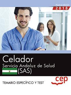 Celador servicio andaluz de salud sas temario y test especi