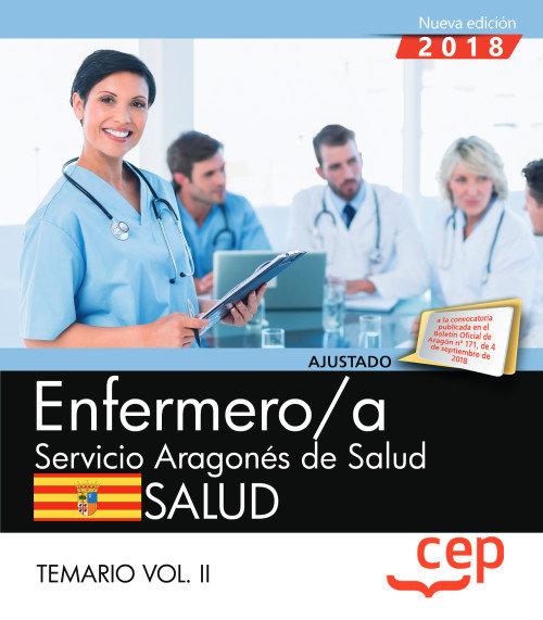 Enfermero/a servicio aragon salud temario vol 2