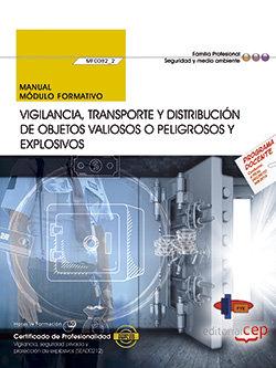 Manual vigilancia transporte y distribucion objetos valioso