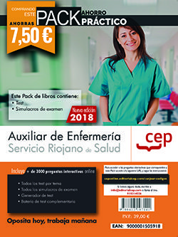 Pack ahorro practico seris auxiliar de enfermeria