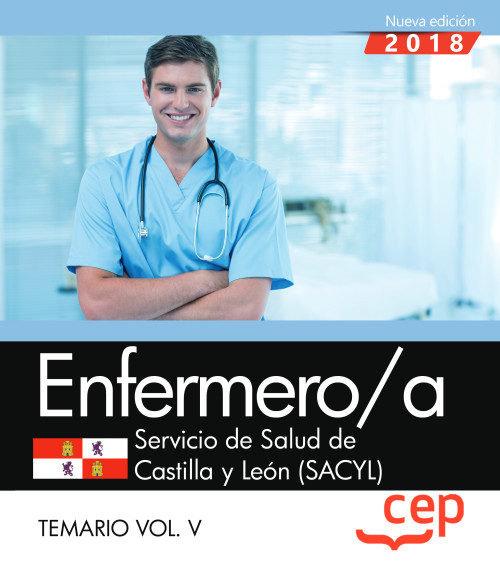 Enfermero/a servicio salud castilla leon temario vol 5