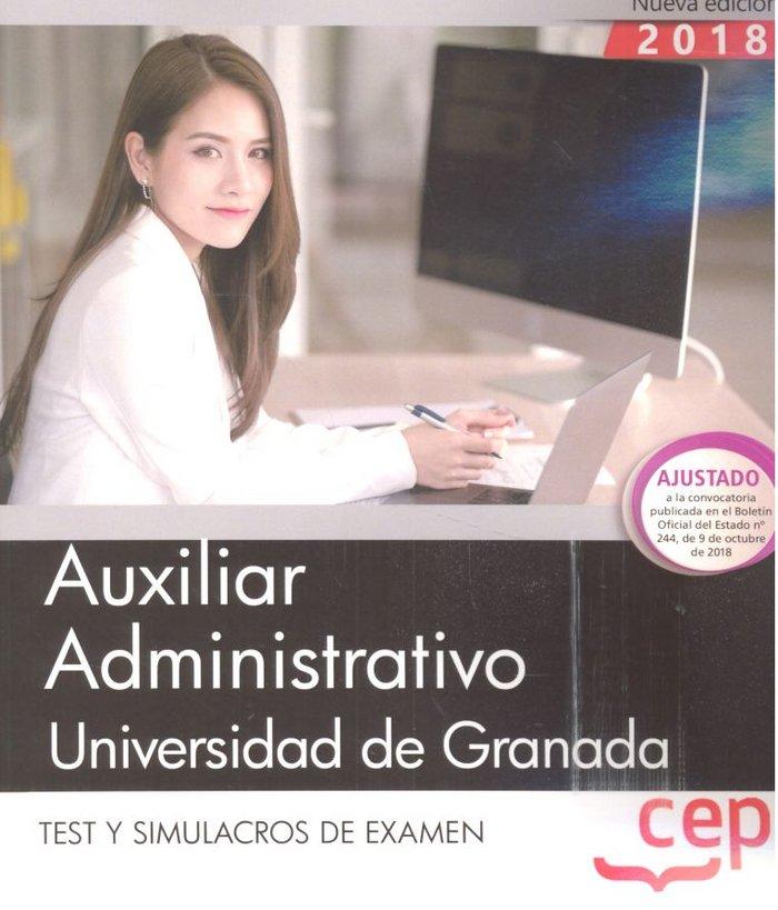 Auxiliar administrativo universidad granada test y simulacr