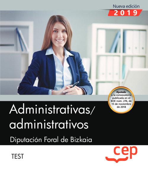 Administrativas/administrativos diputación foral de bizkaia