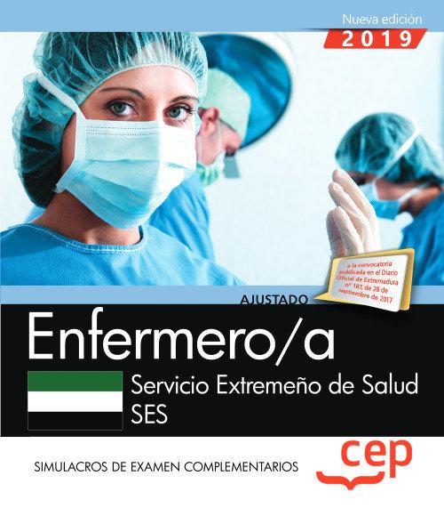 Enfermero/a servicio extremeño salud ses simulacro examen