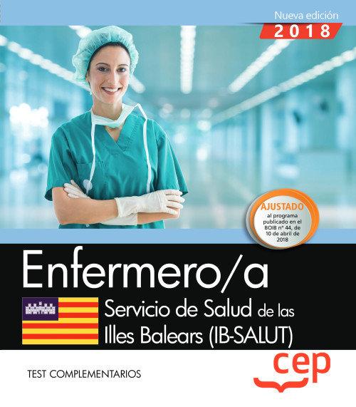 Enfermero/a servicio salud illes balears test complementari
