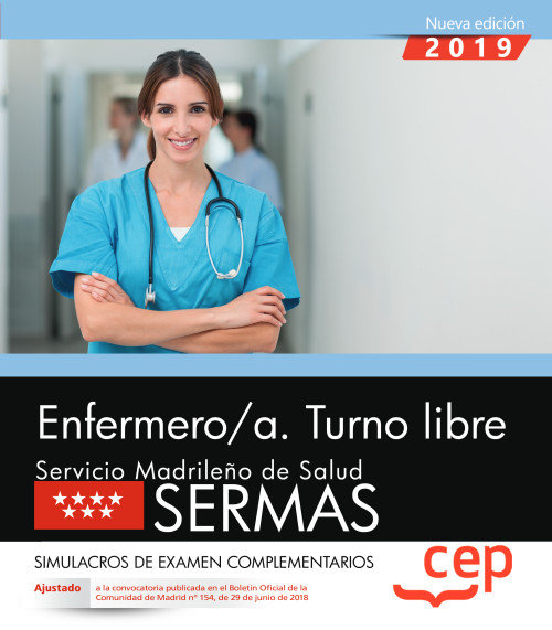 Enfermero/a turno libre servicio madrileño simulacro examen
