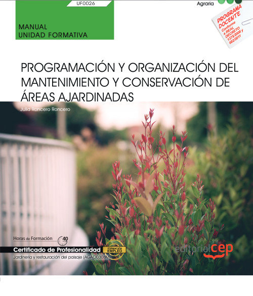 Manual programacion y organizacion mantenimiento conservaci
