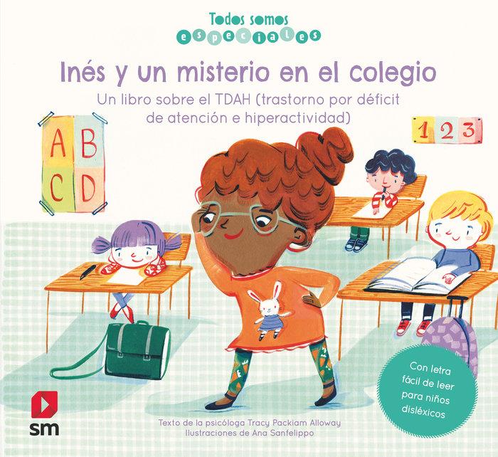 Ines y el misterio en el colegio