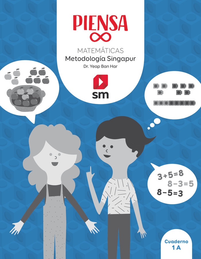 Matematicas 1ºep pack singapur 20 piensa infinito